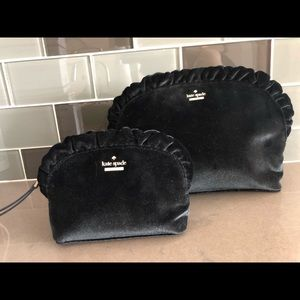 Kate Spade DAWN PLACE Marcy VELVET Cosmetic Bags